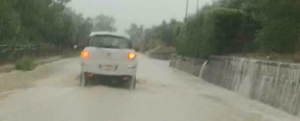 Alluvione in Calabria, Statale 106 allagata