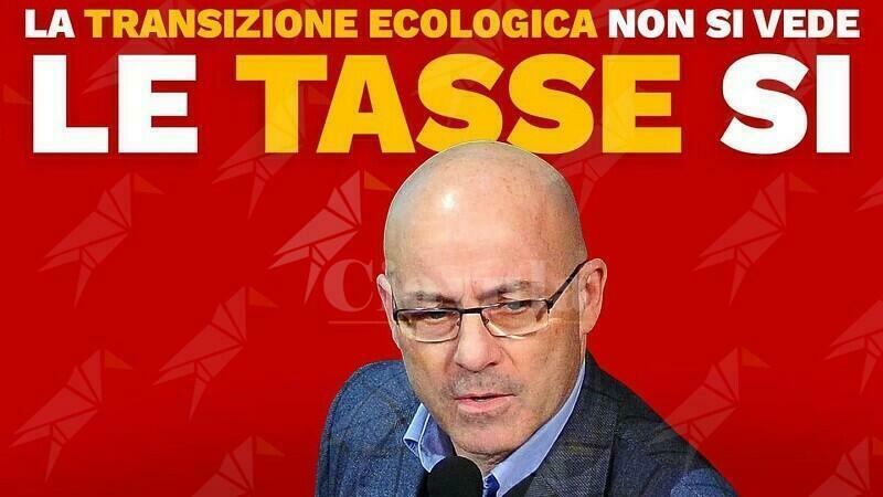 """Sinistra Italiana: """"La transizione ecologica non si vede, le tasse si"""""""