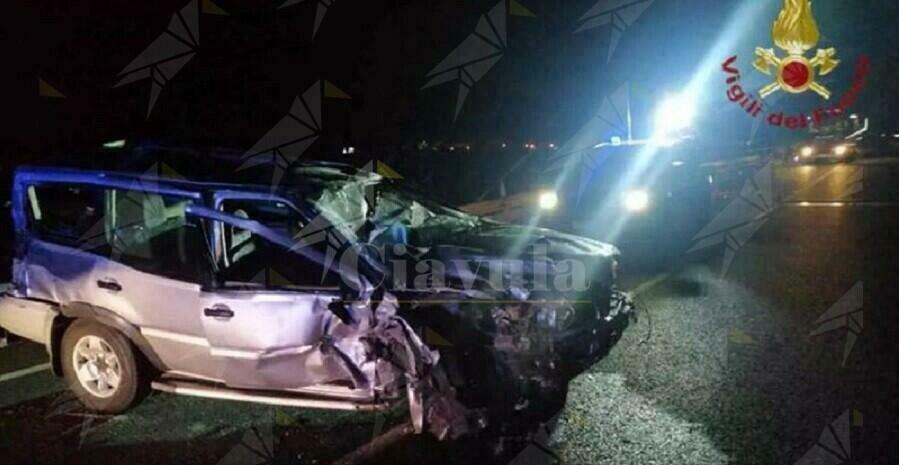 Violento incidente stradale a Gioiosa Marina
