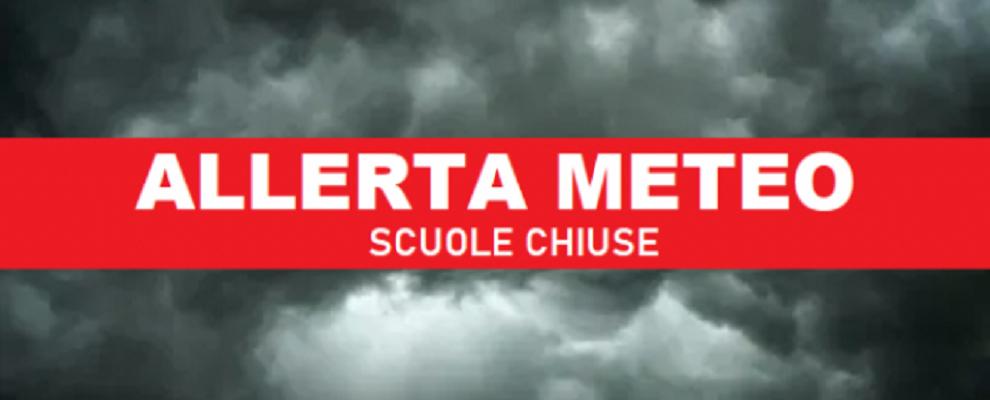 Allerta meteo, domani scuole chiuse a Catanzaro