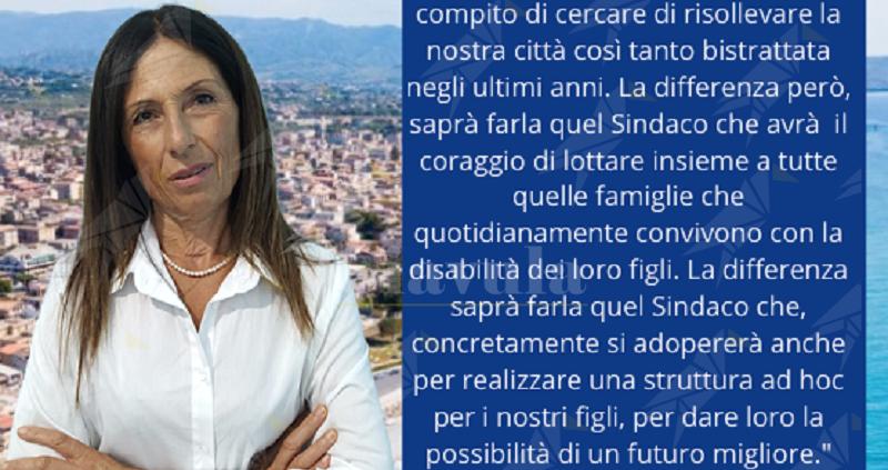 """Caterina De Giorgio: """"E' arrivato il momento di fare quadrato attorno ad una persona perbene come Domenico Barranca"""""""
