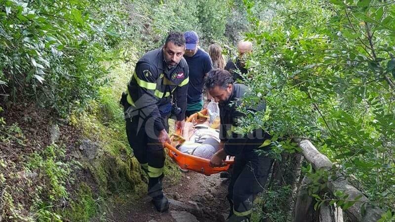 Soccorsa in montagna una turista norvegese rimasta ferita