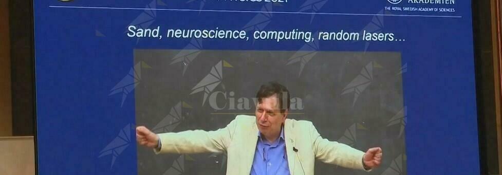 Quando Giorgio Parisi, vincitore del Nobel 2021 per la Fisica, premiò un cauloniese