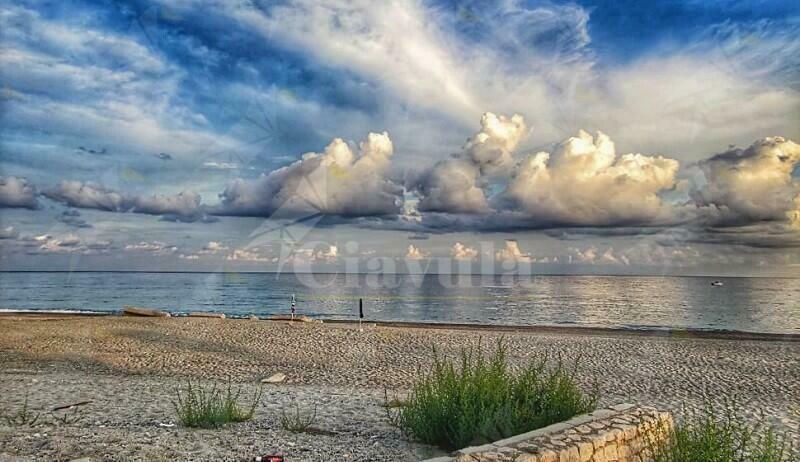 La spiaggia di Caulonia in autunno
